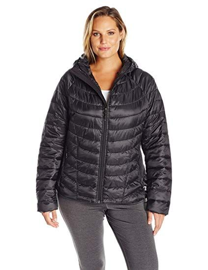 46fca846a6285 Champion Women s Plus Size Performance Nylon Synthetic Down Jacket in 2018