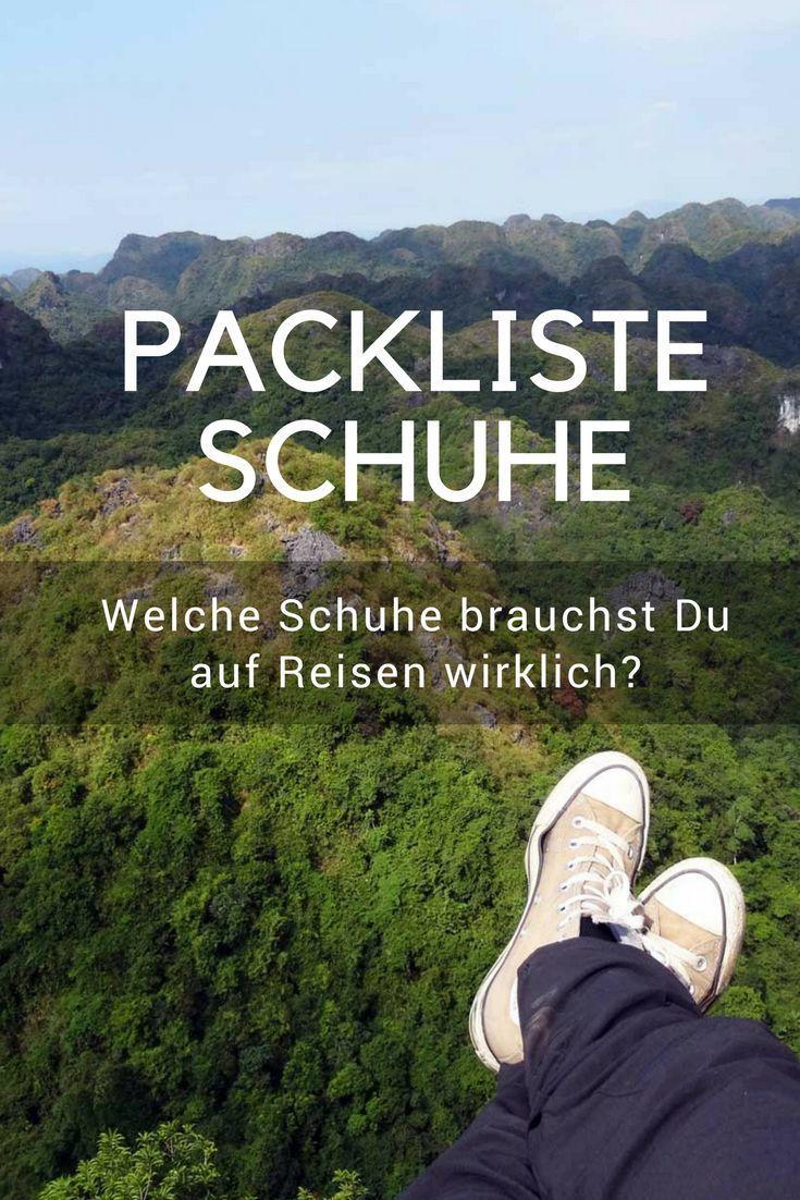 Weltreise Schuhe: Packliste & Infos für Backpacker | Reisen