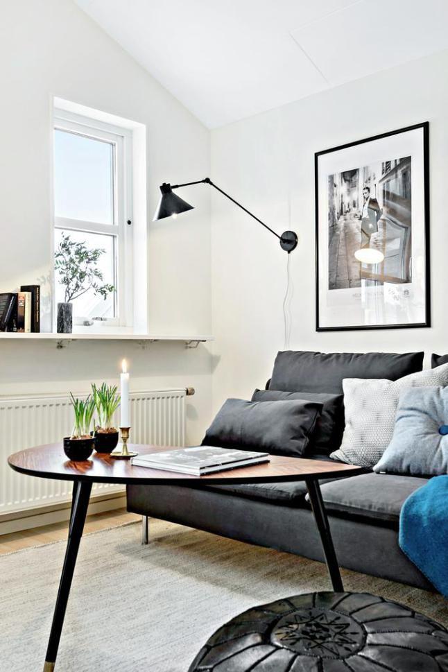 Las 25 mejores ideas sobre sof negro en pinterest y m s - Salones con sofa negro ...