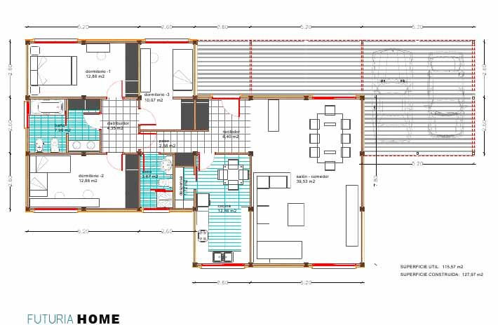 plano casas prefabricadas plans pinterest bricolage On plans d étage bricolage
