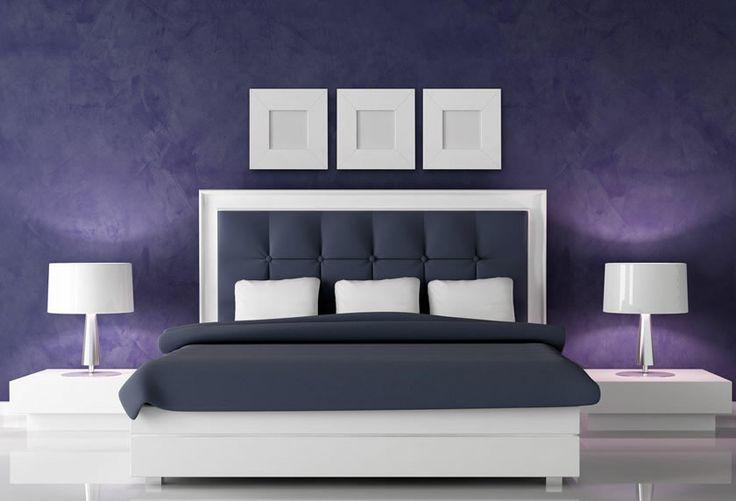 Yatak odasında mor renk uykuyu olumsuz etkiliyor ve uyku süresinin kısalmasına yol açıyor. http://nardayatak.blogspot.com.tr/2014/05/yatak-odasi-renkleri.html