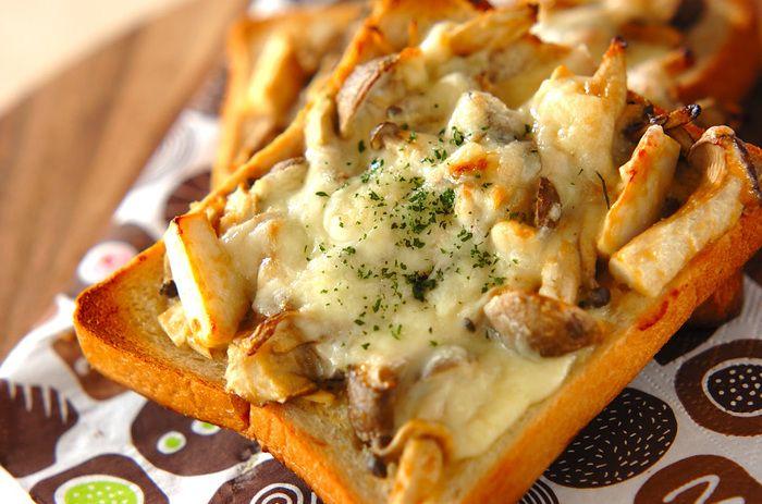 具材をもりもり乗っけちゃおう!手軽で満足なおかずトーストレシピ☆ | キナリノ