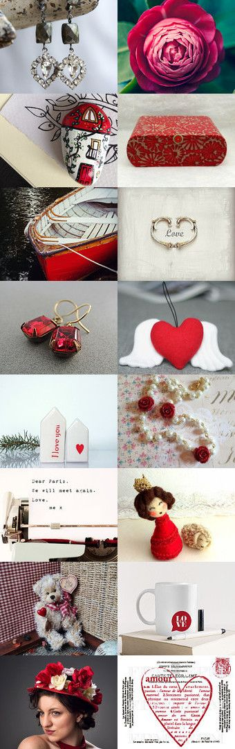 Love is in the Air by FrenchPaperMoon on Etsy--Pinned+with+TreasuryPin.com