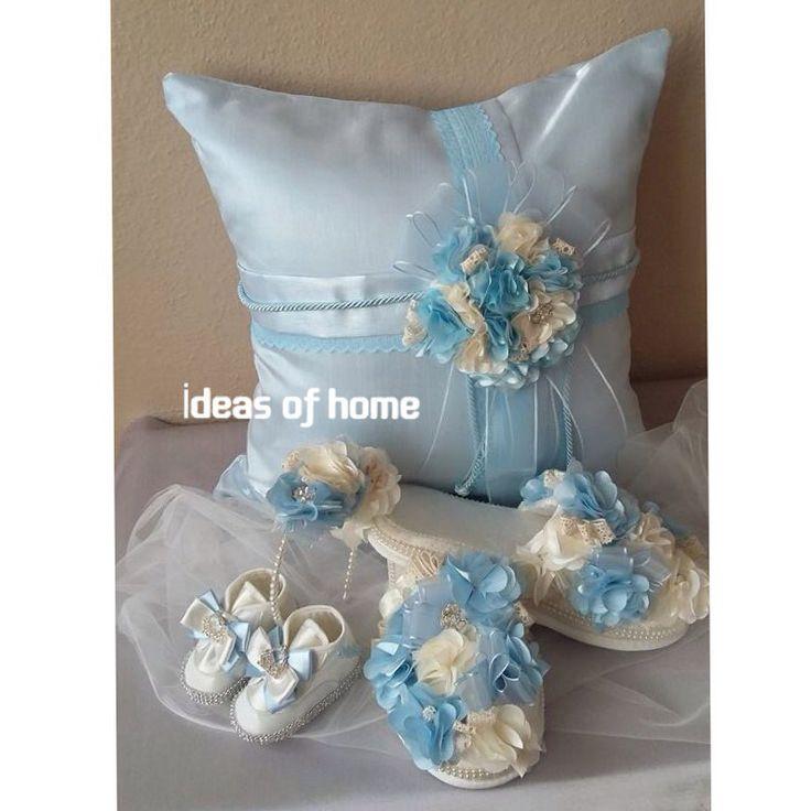 Bebek Takı Yastığı (instagram: ideas_of_home)