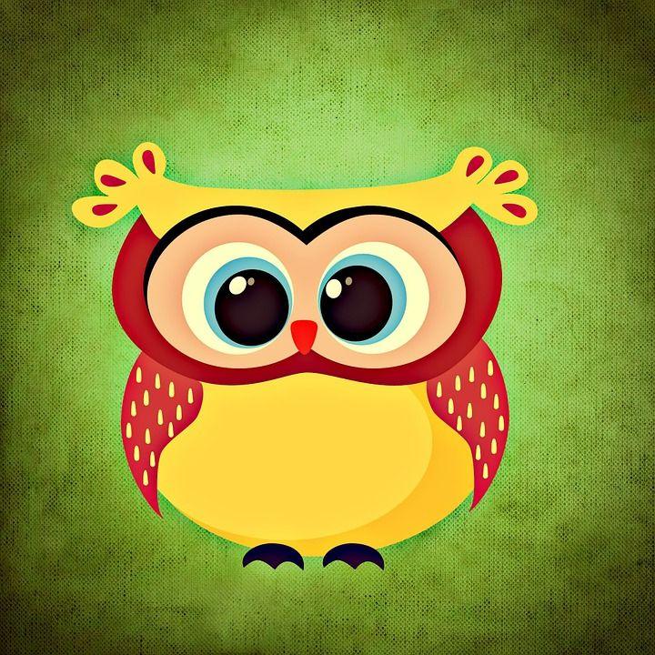 Illustrazione gratis: Gufo, Colorato, Divertente - Immagine gratis su Pixabay - 700760