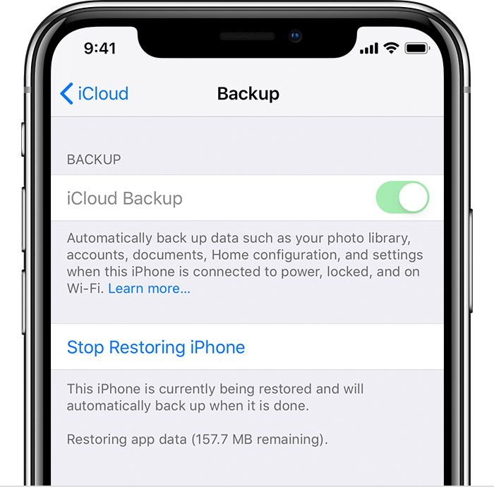 How To Get My Icloud Data On My New Iphone