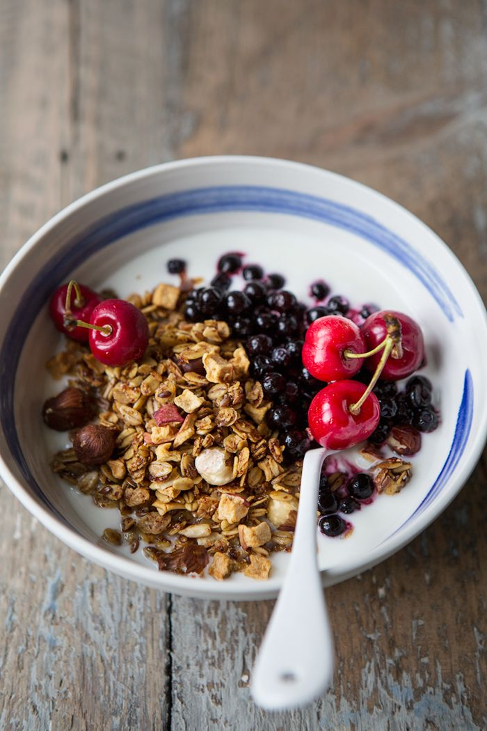 Slow Roasted Apple and Rosehip Granola Recipe