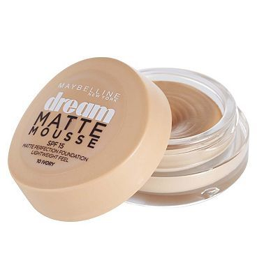 Maybelline Dream Matte Mousse Foundation Caramel 28 Advantage card points. Maybelline Dream Matte Mousse F, Caramel FREE Delivery on orders over 45 GBP. http://www.MightGet.com/february-2017-1/maybelline-dream-matte-mousse-foundation-caramel.asp