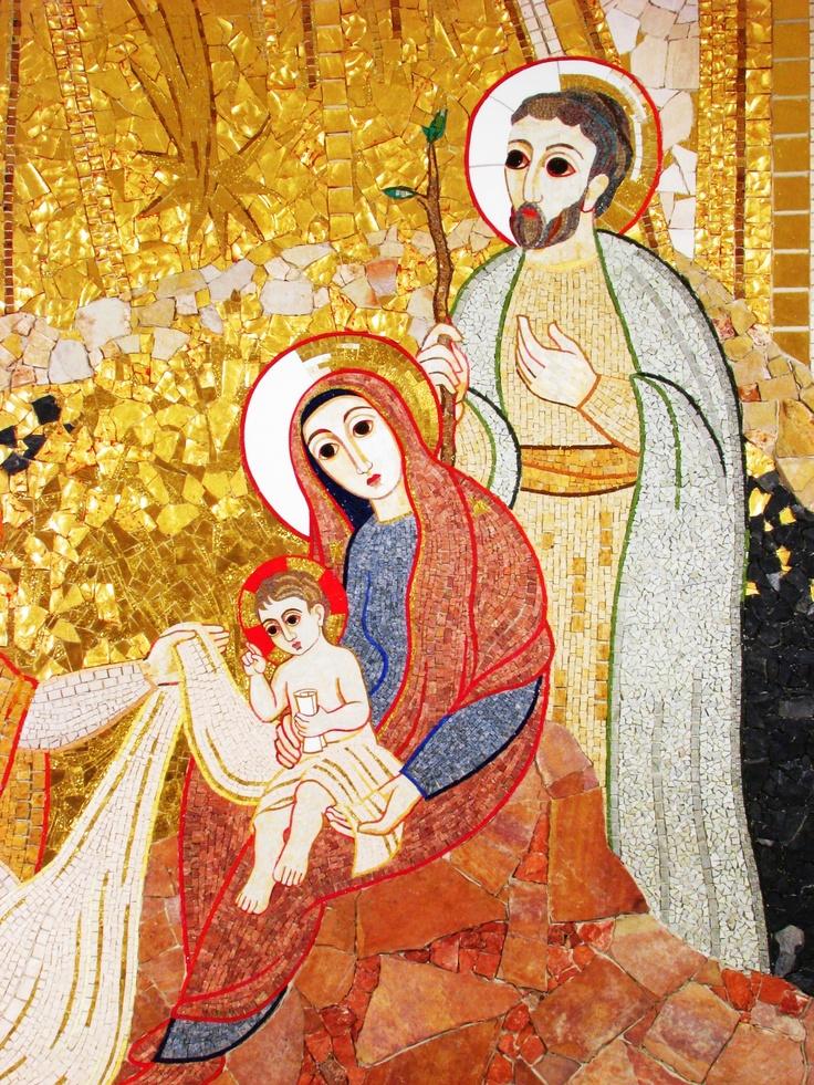 Rupnik - Holy family