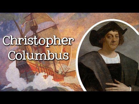 Biography of Christopher Columbus for Children: Famous Explorers for Kids - FreeSchool - YouTube