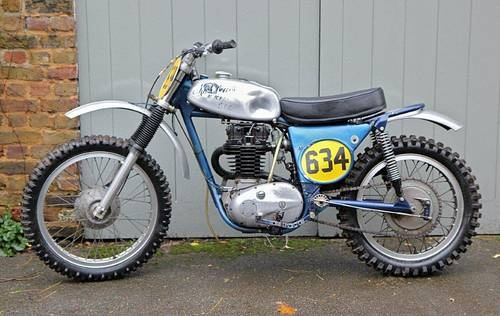 non-factory BSA B50MX For Sale (1971)