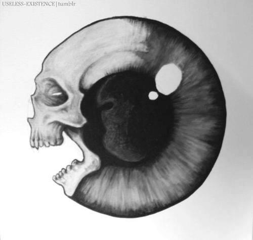 skull/eye