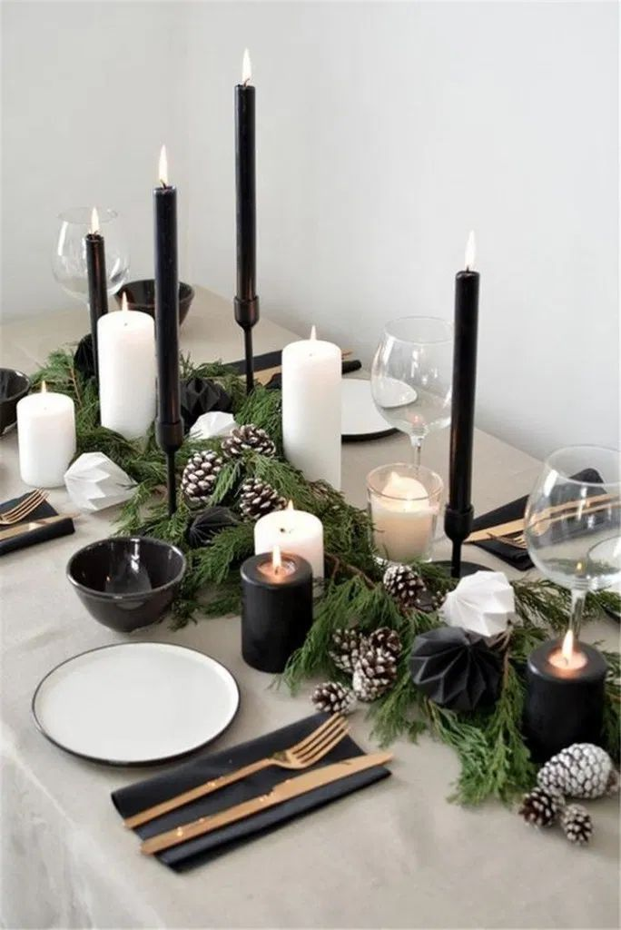 Incredible Modern Christmas Minimalist Decor #chri…