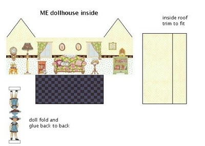 Printable Dolls House