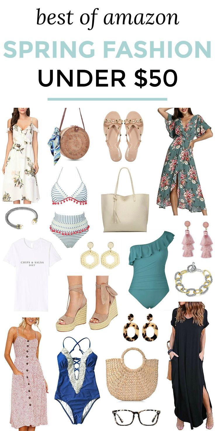 The best spring fashion finds from Amazon - all under $8 with