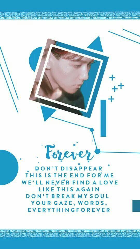 EXO COMEBACK 2017 WALLPAPER   #EXO #COMEBACK #July2017   Baekhyun Wallpaper   #백현 #엑소 #lyrics #Forever cre: HDHE