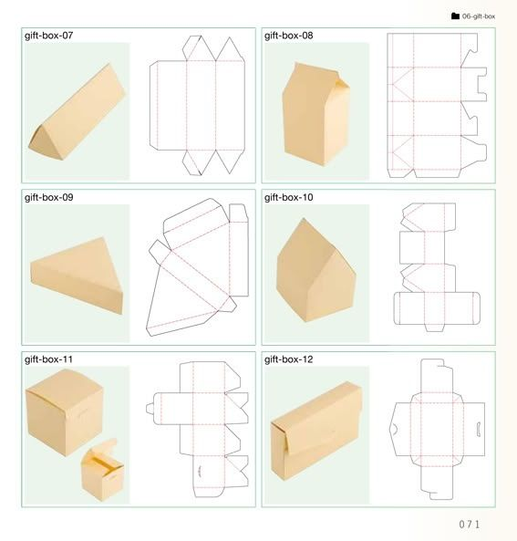 96 best images about Net packaging template on Pinterest