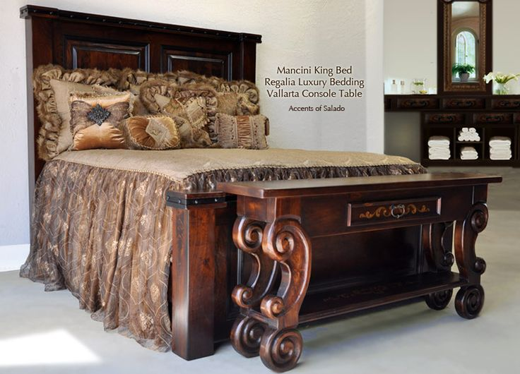 Find This Pin And More On Master Bedroom Mancini Old World Bedroom Furniture Tuscan Style