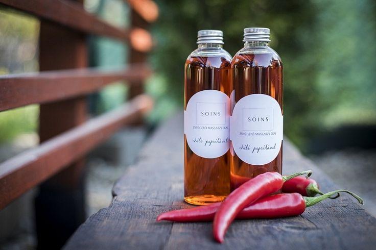 Narancsbőr elleni zsírégető masszázsolaj chilivel - Most bevezető áron