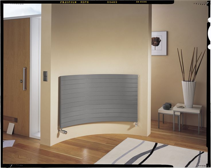 Curved radiators from Arbonia and Simply Radiators.