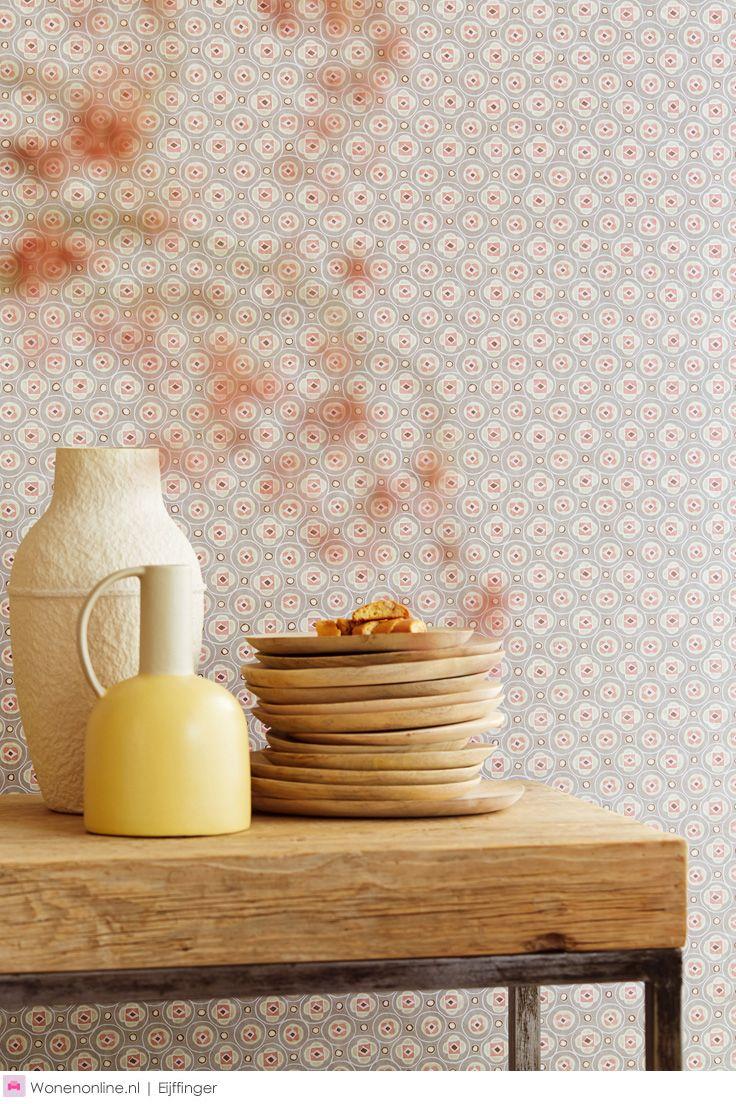 """Behangcollectie Raval van Eijffinger - De kleurrijke en verfijnde prints zijn onderling mix & match te combineren. Creëer met Raval thuis helemaal uw eigen stijl."""""""