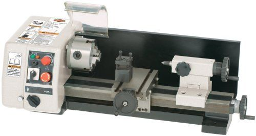 Shop Fox M1015 6-Inch by 10-Inch Micro Lathe | Benchtop Lathe
