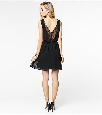 Lace to the top! This fit and flare dress will keep you looking fabulous from party to party. #DYNHOLIDAY