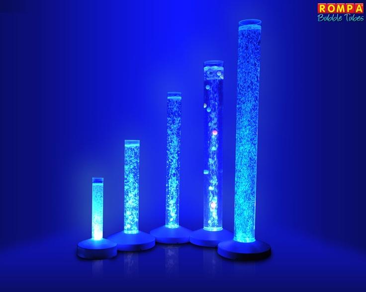 Sensory Room Bubble Tubes Blue Sensory Play