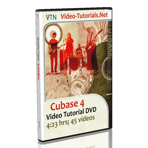 Cubase 4 represents the cutting edge in digital audio workstations. Designed for professionals from the ground up, Cubase converges extraordinary sound quality, intuitive handling and a vast range of highly advanced audio and MIDI tools for composition, recording, editing and mixing. see more: http://www.video-tutorials.net/vtnet/shop/music-recording/cubase-4-tutorial/