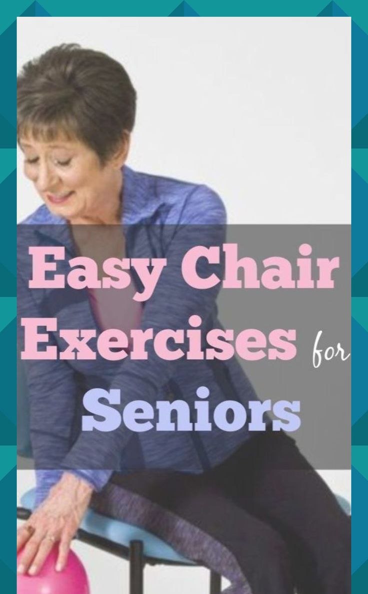 Simple Chair Exercises For Seniors- 10 Seated Chair