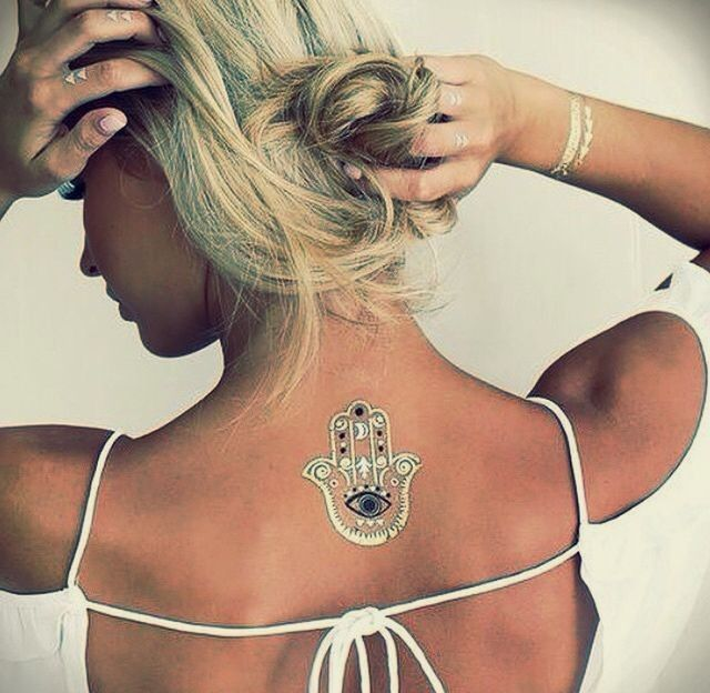 Arany tetoválás - fatima - HobbyRendelés webáruház
