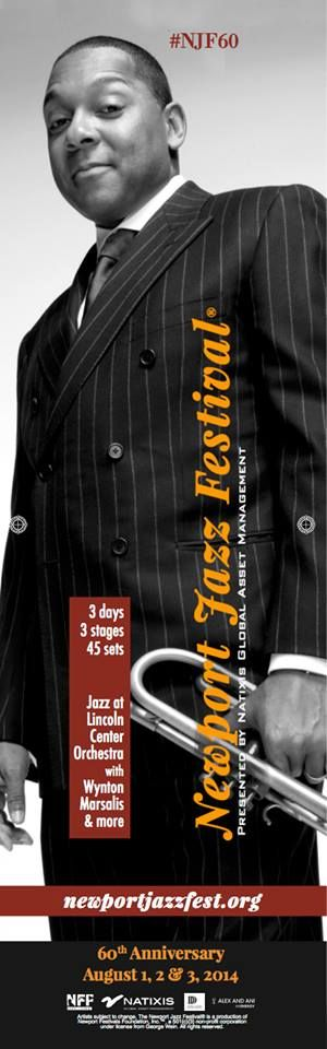 This year is going to be a great time at the Newport Jazz Fest. with Wynton Marsalis and many more!