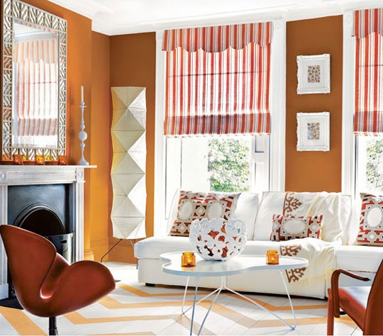 Oranges Colorful Room: 25+ Best Ideas About Orange Living Rooms On Pinterest