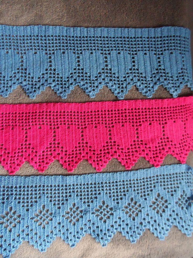 #BaiduImage barrados de croche para toalhas de banho com grafico_Pesquisa do Hao123