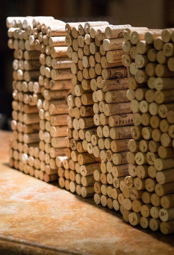 5 Diy Ideas Using Wine Corks As Wedding Decor Wedding