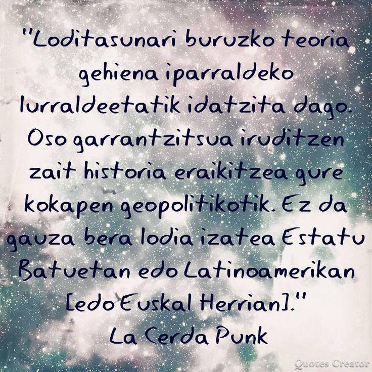 iturria: LODIFOBIARIK EZ https://www.facebook.com/Lodifobiarik-ez-807121689397865/ Loditasunari buruzko teoria gehiena iparraldeko lurraldeetatik idatzia da... (La cerda Punk)