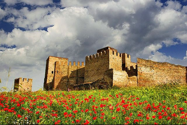 Castles of Thessaloniki Greece
