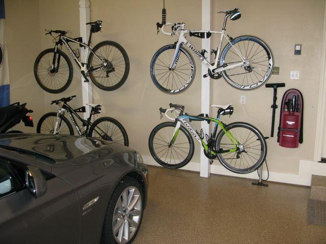 38 Bike Storage Ideas With Pictures! | Bike storage garage, Bike storage  diy, Bike rack garage