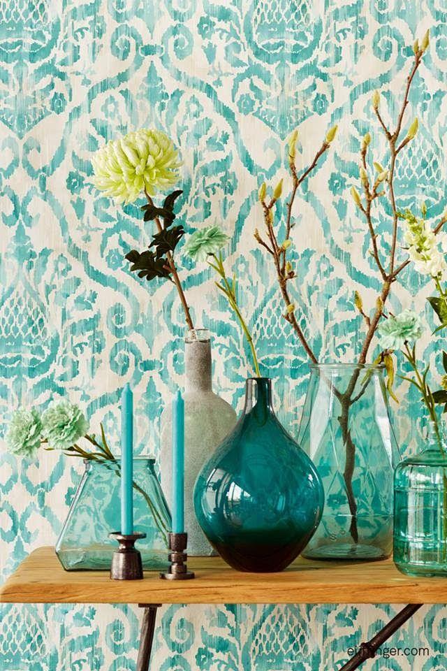 Eijffinger - Savor wallpaper. LIA Leuk Interieur Advies/Lovely Interior Advice: Wallpaper