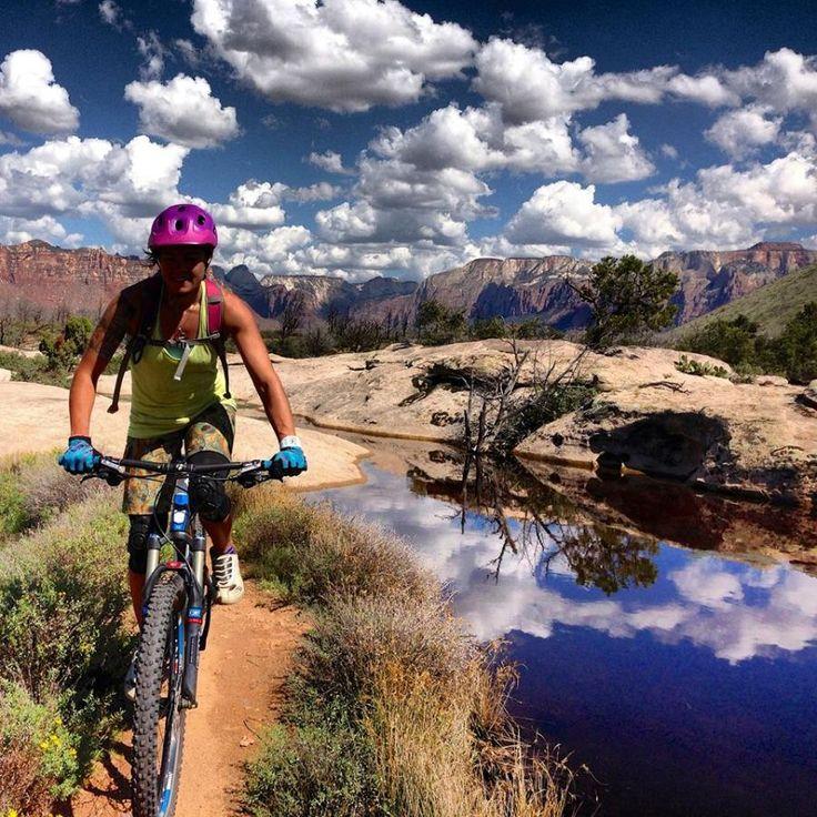 Women MTB. Bicycles Love Girls. http://bicycleslovegirls.tumblr.com