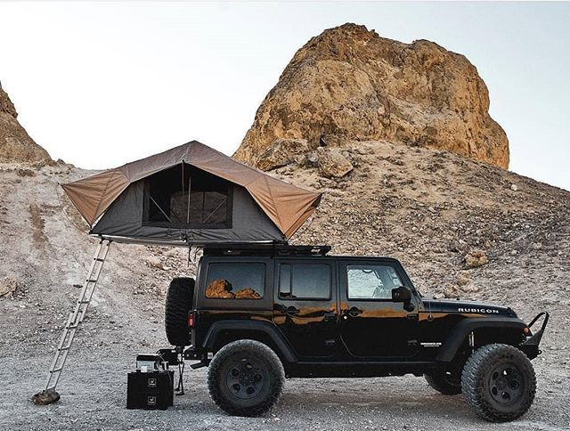 Elevate Your Next Camping Trip With A Roof Top Tent They Are Perfect For A Great Night Sleep Because They Co Jeep Wrangler Camping Roof Top Tent Camping Photo