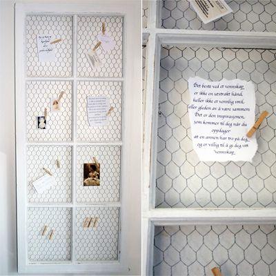 FØR/ETTER tre ting en kan gjøre med gamle vinduer » Norske interiørblogger