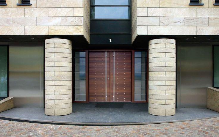 ΠΟΡΤΕΣ ΑΣΦΑΛΕΙΑΣ Golden Door :: Νέο Design :: Δίφυλλη πόρτα ασφαλείας με μασίφ επένδυση μεράντι
