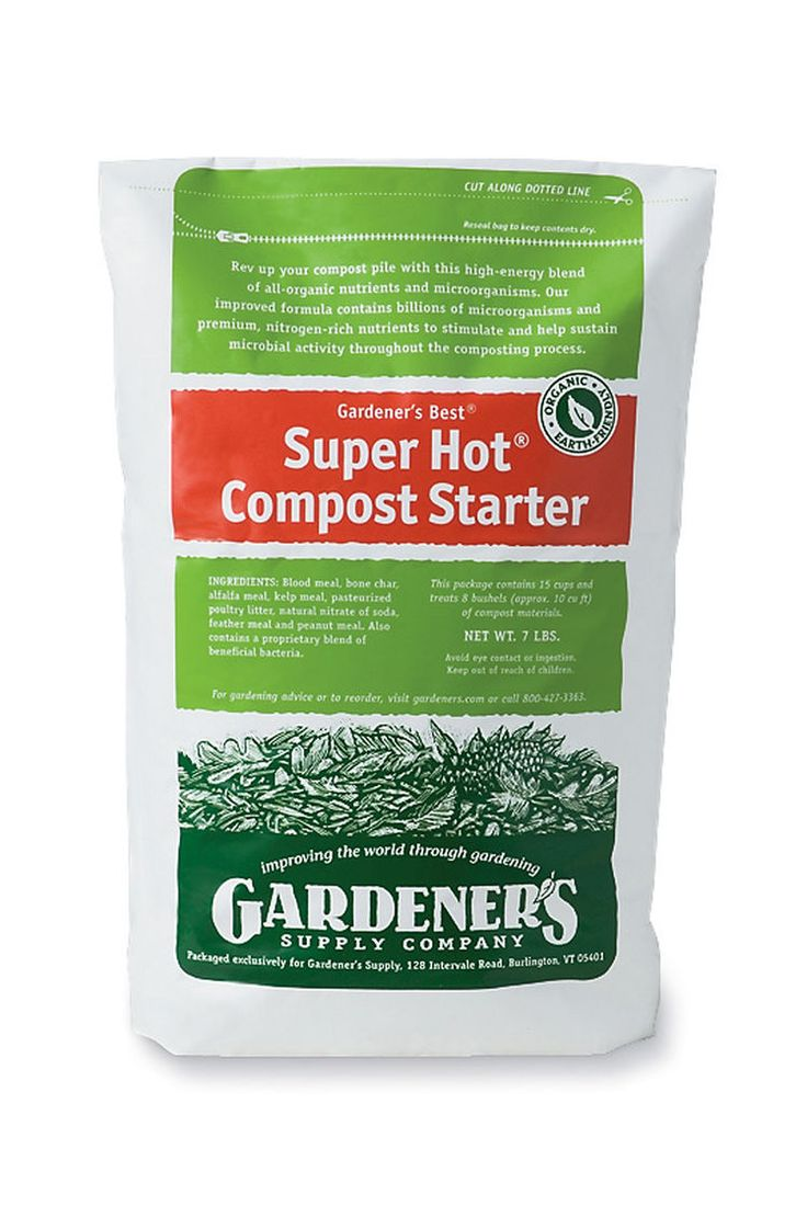 Super Hot® Compost Starter | Gardener's Supply