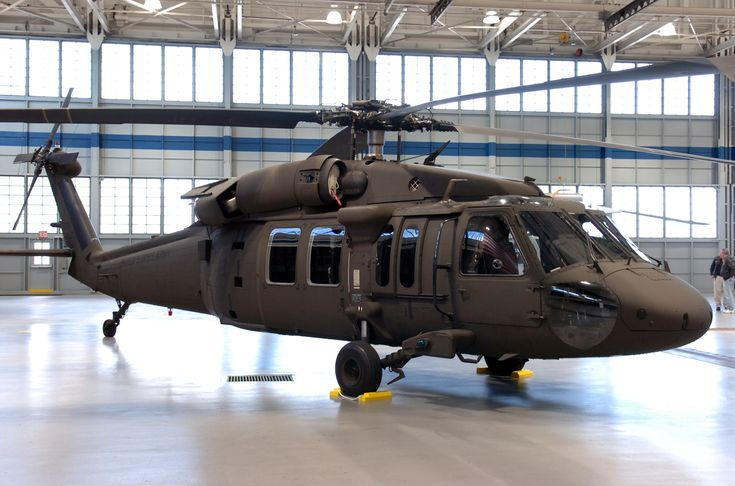 Sikorsky's UH-60M Black Hawk for the U.S. Army, seen here in the Military Hangar at Sikorsky Aircraft in Stratford, Conn. Feb. 20, 2008.