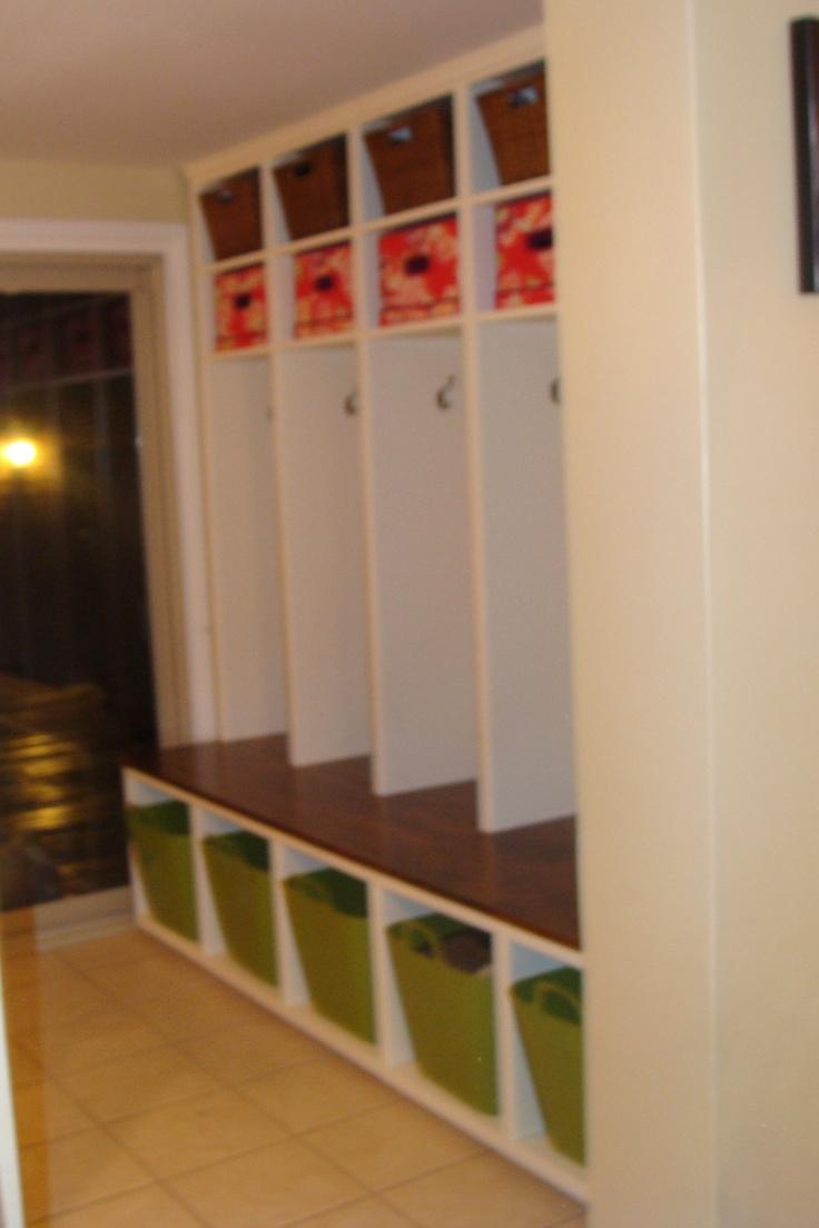 Custom cabinet Mudroom lockers  my work  Mudroom