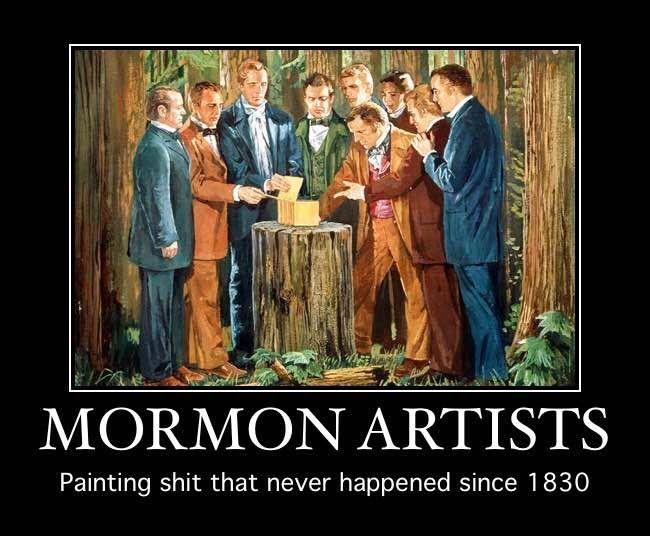 Mormon Artists....