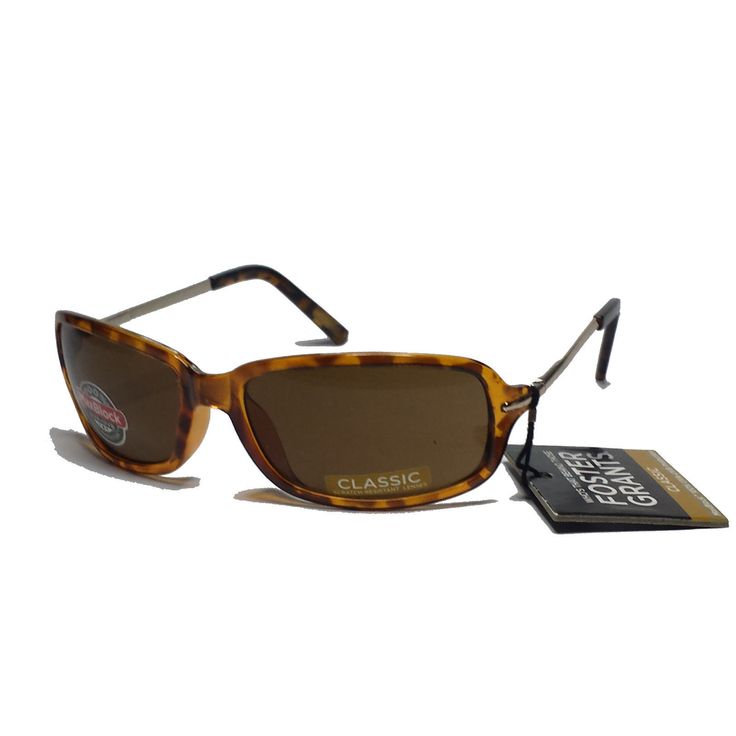 #ebay Foster Grant women sunglasses Rectangular Brown with metal side bars withing our EBAY store at  http://stores.ebay.com/esquirestore