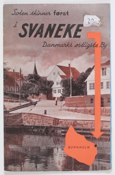 På østkysten ligger også den hyggelige by Svaneke med et gammelt torv.