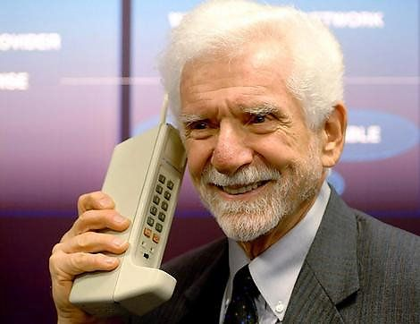 Martin Cooper grew up in the North End breaking apart Coke bottles to figure out how to burn paper and turned that curiosity into the first mobile phone for Motorola. Of course he made the first cellphone call on it, too. And yes, he says it was inspired by Star Trek's Communicator.